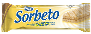 SORBETO-CAJETA