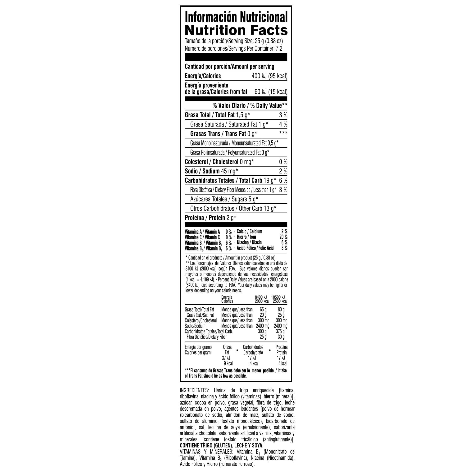 CHOCOSAS Inf Nutric pag web